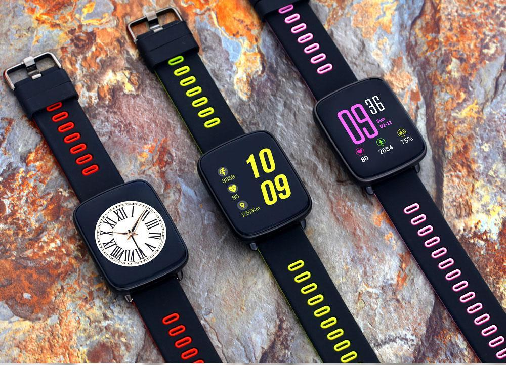 GV68 Smartwatch Pedometer Smart Watch - Can Supervise Your Physical Condition in Real Time!