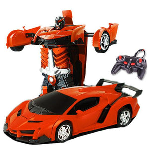 Best Choice Kids Toy Transformer Robot Car No Touching Transformed