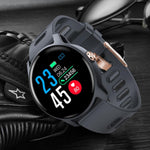 SENBONO Men Smart Watch  S08 IP68 Waterproof  Fitness Tracker Heart Rate monitor Smartwatch Women Clock for android IOS Phone