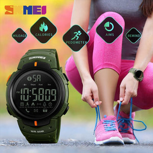 SKMEI Fashion Smart Watch Men Calorie Pedometer