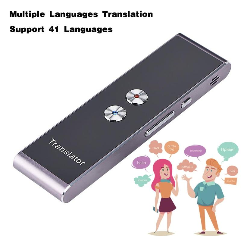 Portable Voice Translator - Real Time Language Wireless Travel Translation