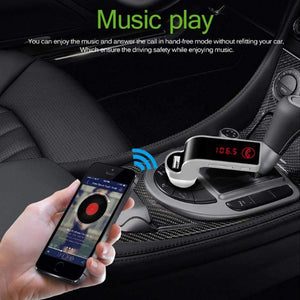 4-in-1 Wireless Bluetooth Car - Make Calls, Listen Music & Charging With The Same Tool
