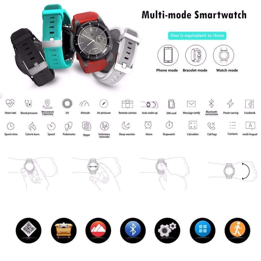 Smart Watches - Multi-mode Smartwatch Fitness Tracker - Elevated In Every Way