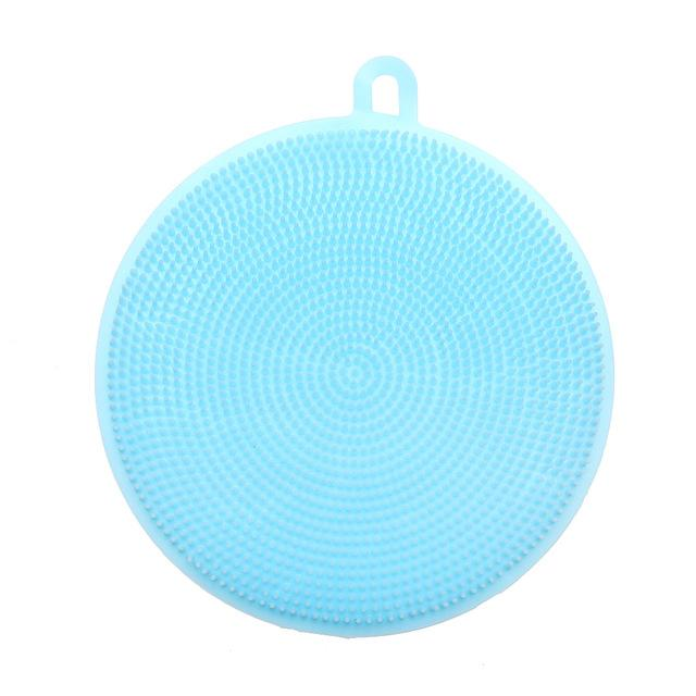 MAGIC SILICONE DISH CLEANING BRUSH