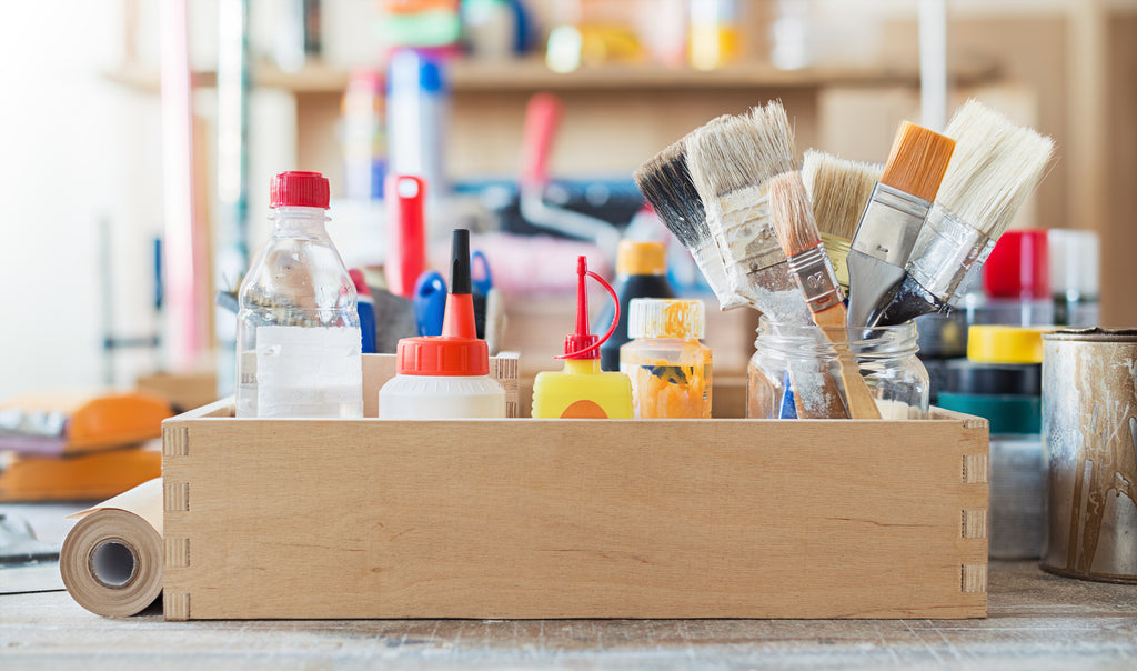 Building Your Own Art Supplies Stash