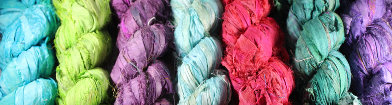 Sari Ribbon and Yarn
