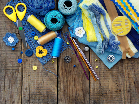 Sewing and knitting essentials