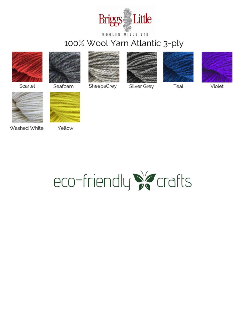 Briggs & Little 100% Wool Yarn Atlantic 3-Ply