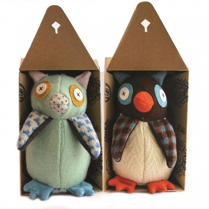 Cate and Levi - Hoo's The Maker Owl Stuffed Animal Kit