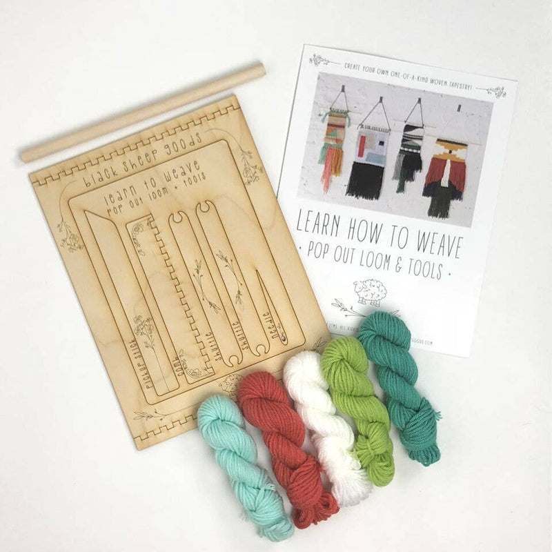 Tapestry Weaving Kit - Tropical - by Black Sheep Goods