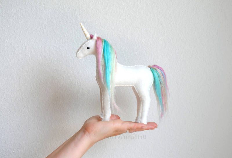 Felt Unicorn Hand Sewing Kit
