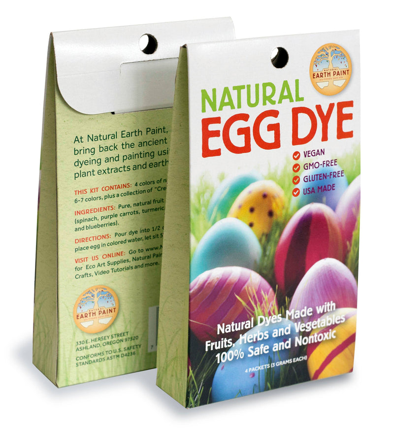 Natural Earth Paint - Natural Egg Dye Kit