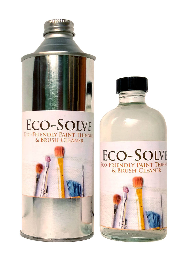 Eco-Solve Paint Thinner- 8 Ounce Glass Bottle