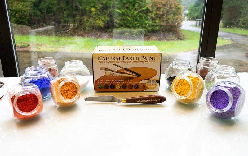 Natural Earth Paint - Artist Oil Paint Kit