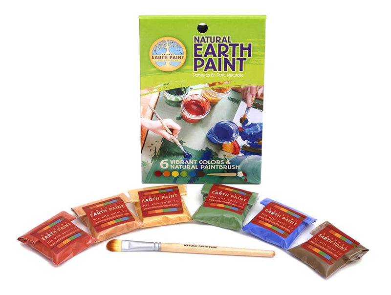 Natural Earth Paint - Petite Children's Earth Paint Kit