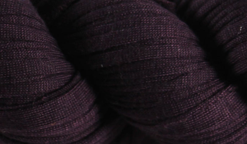 Recycled T-Shirt Yarn- Eggplant