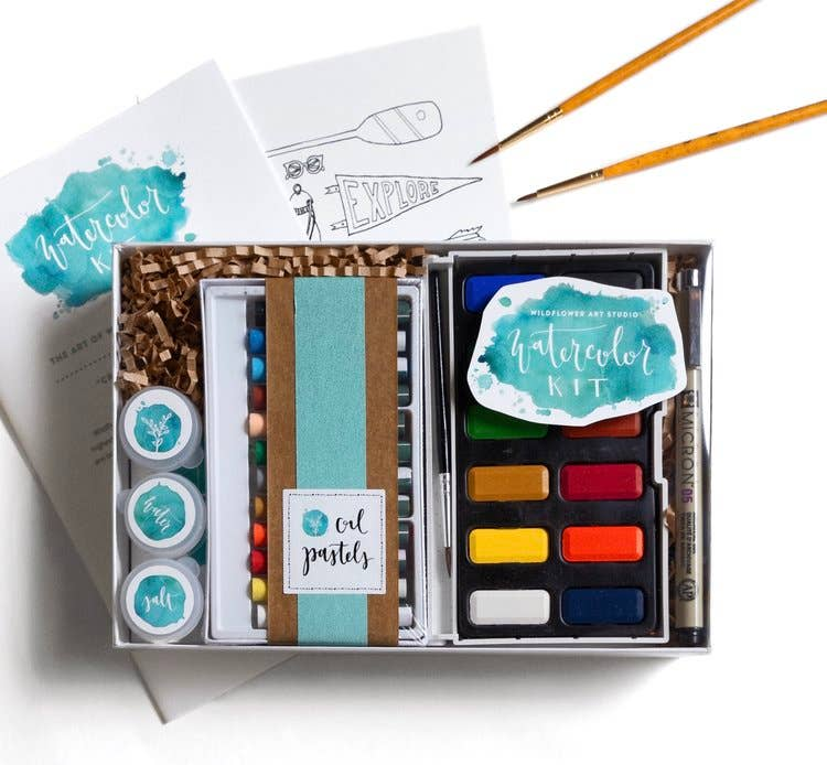Watercolor Kit by Wildflower Art Studio