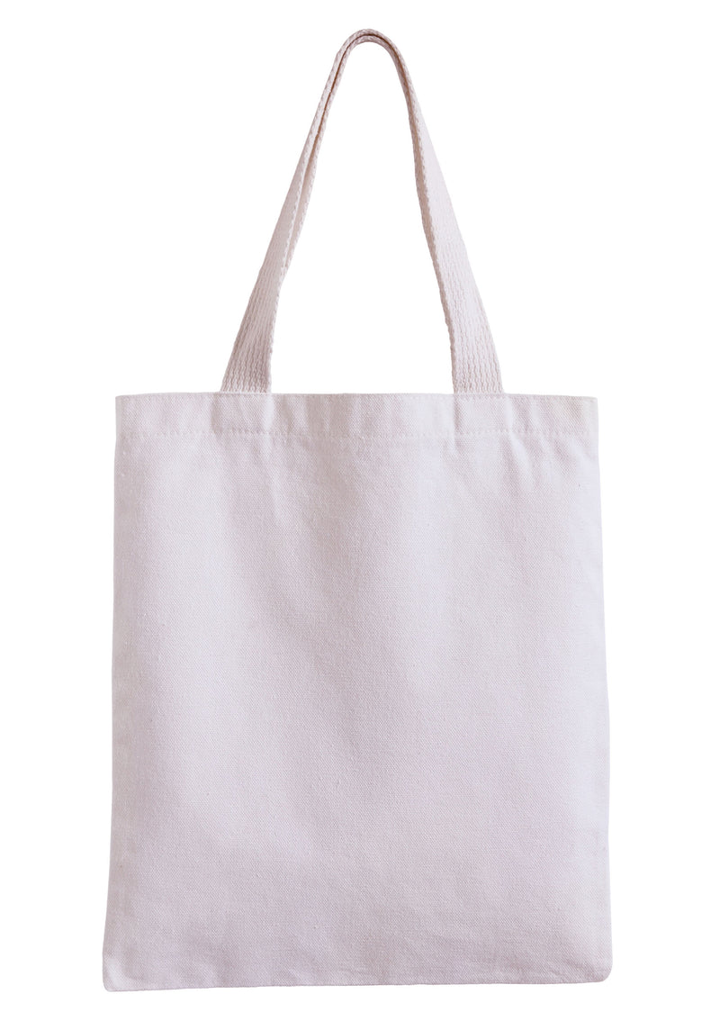 Canvas Tote Bag - Natural- Blank for HTV or Embroidery