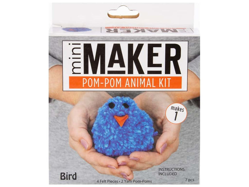 Leisure Arts Mini Maker Pom-Pom Animal Kits