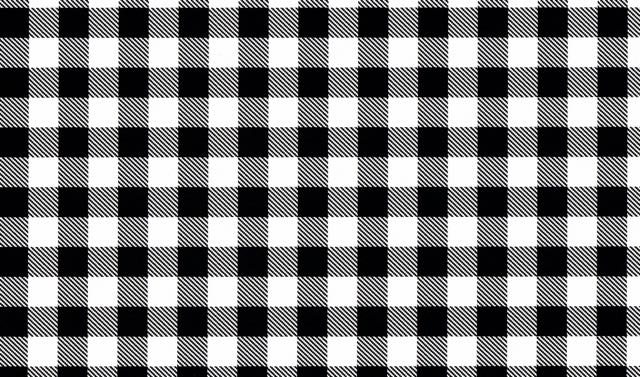 Black and White Buffalo Plaid Heat Transfer Vinyl and Carrier Sheet