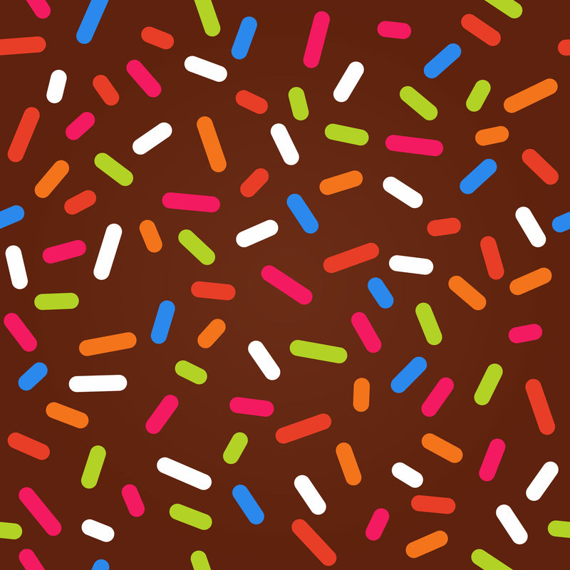 Candy Confetti Sprinkles Heat Transfer Vinyl and Carrier Sheet