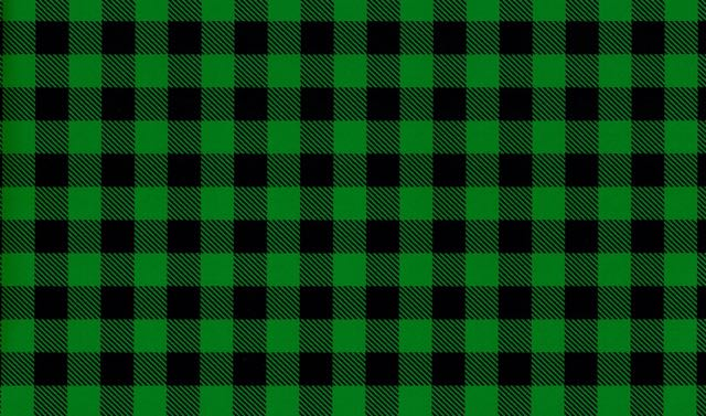 Green Buffalo Plaid Pattern Heat Transfer Vinyl and Carrier Sheet