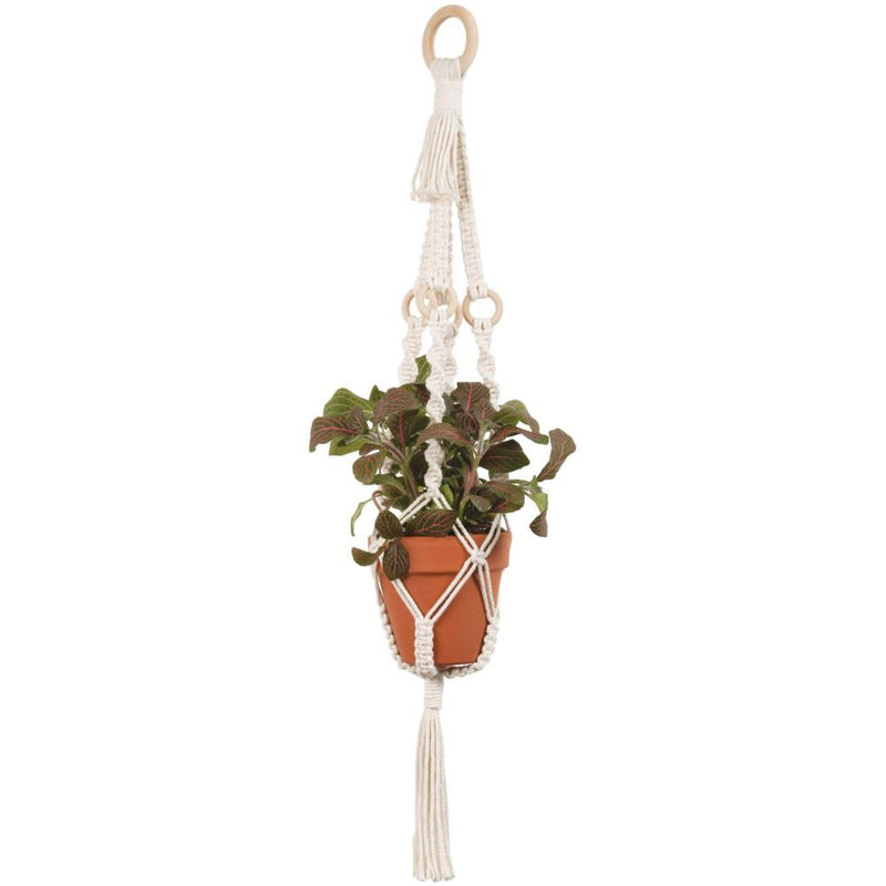 Macramé Plant Hanger Kit - Rings - by Solid Oak