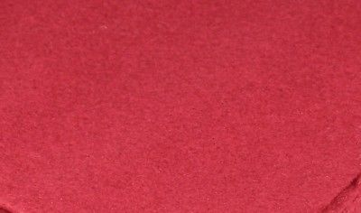 Bamboo and Rayon Eco Felt Fat Quarter- Brick Red