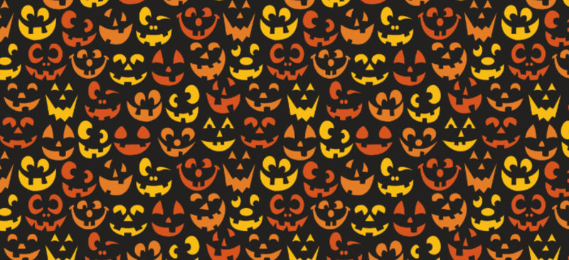 Halloween Pattern Heat Transfer Vinyl