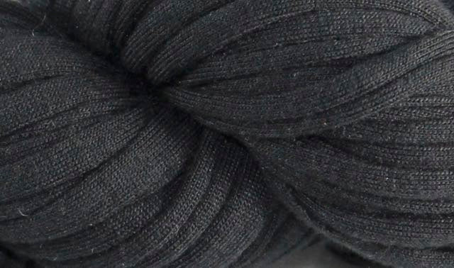 Recycled T-Shirt Yarn- Black