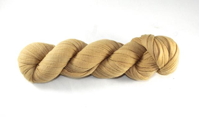 Recycled T-Shirt Yarn- Toffee