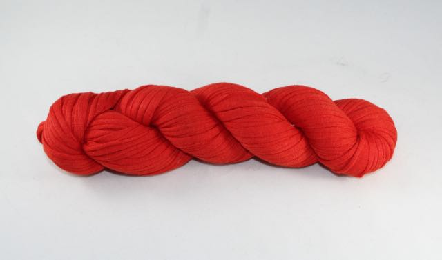 Recycled T-Shirt Yarn- Red