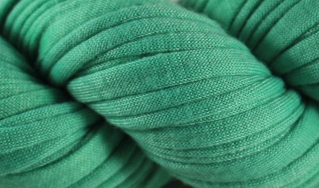 Recycled T-Shirt Yarn- Mint Green