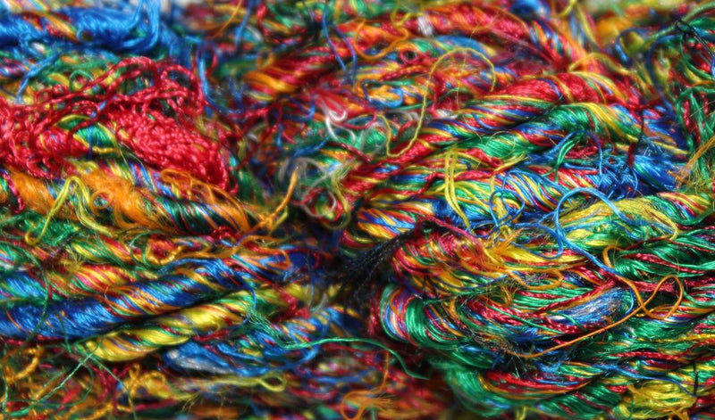 Banana Silk Yarn - Multicolor