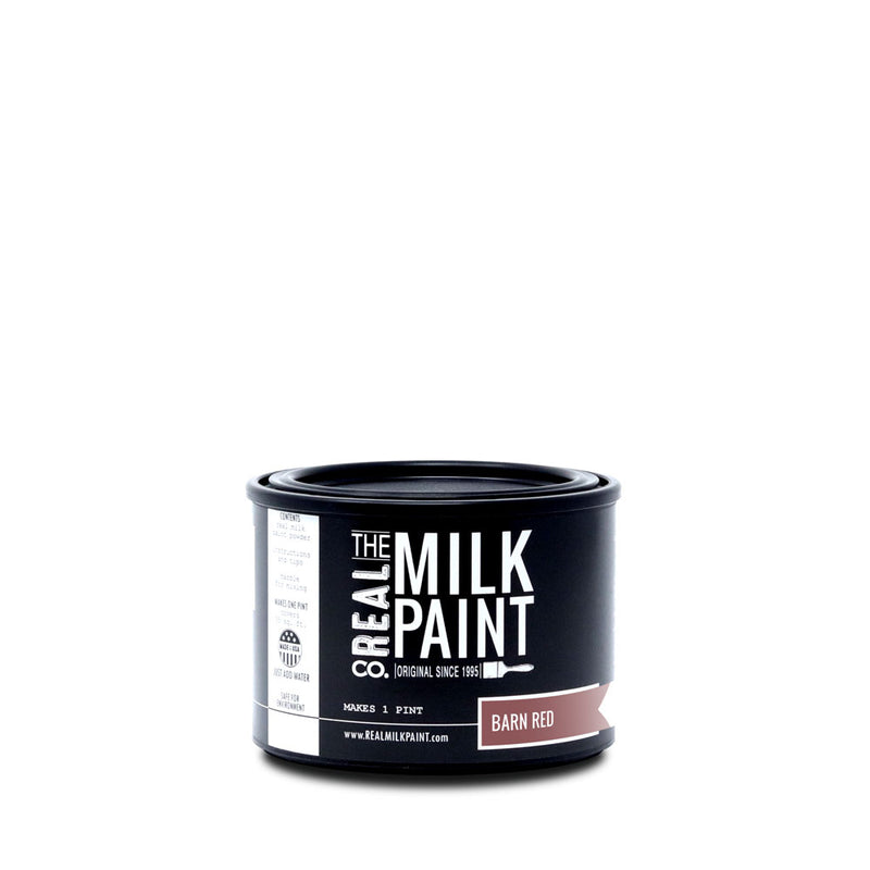 Real Milk Paint Barn Red- Pint
