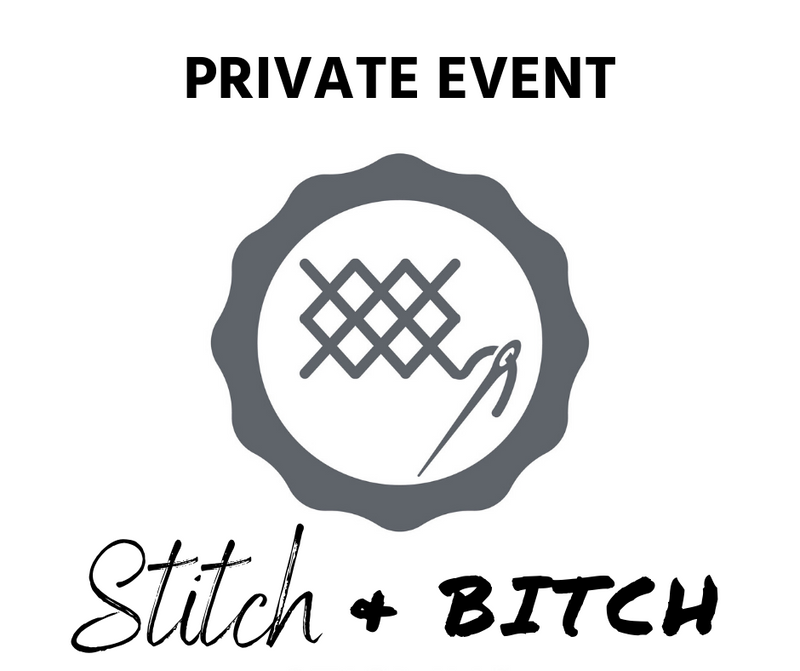 Private Event - SAMC Liberal Mamas - Stitch N Bitch