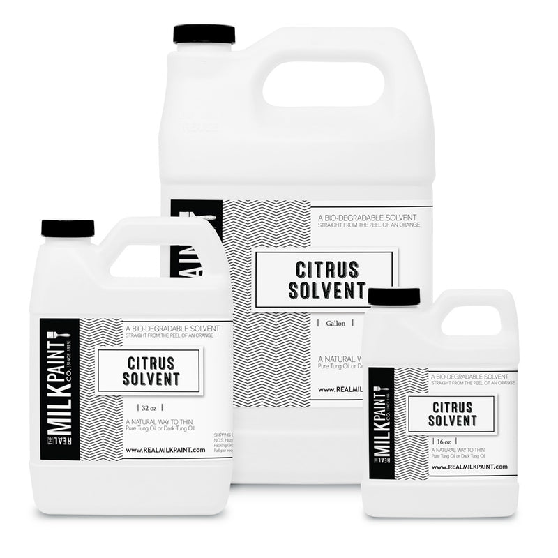 Real Milk Paint Citrus Solvent -  16 ounces