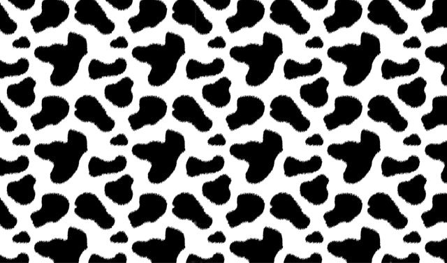 Cow Print Pattern Heat Transfer Vinyl - Cowboy or Cowgirl HTV