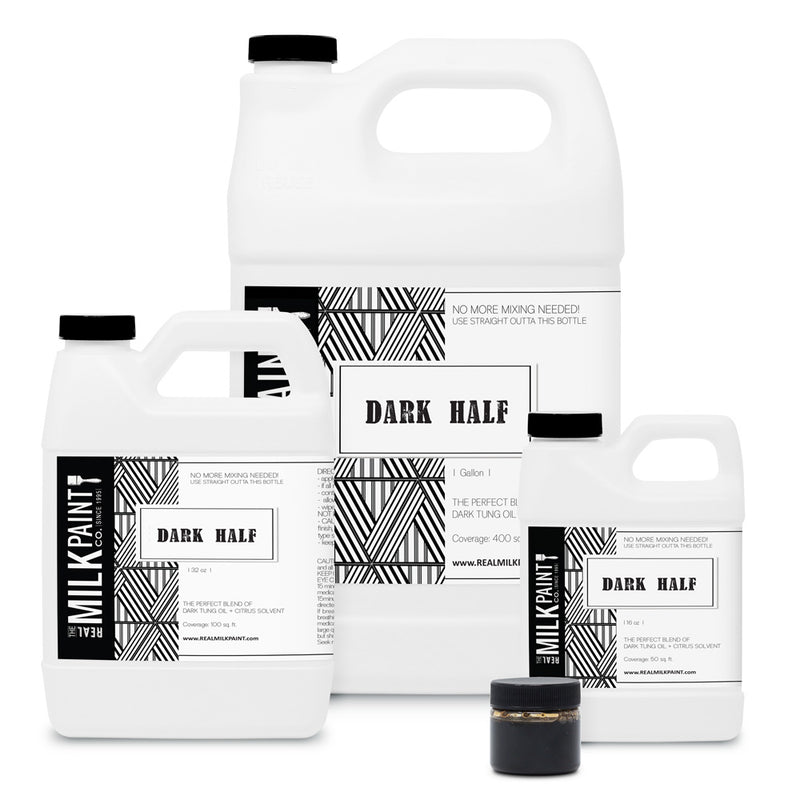 Real Milk Paint Dark Half - 16 ounces