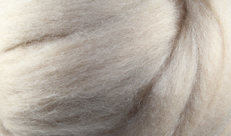 Wool Roving - 1oz - Flesh