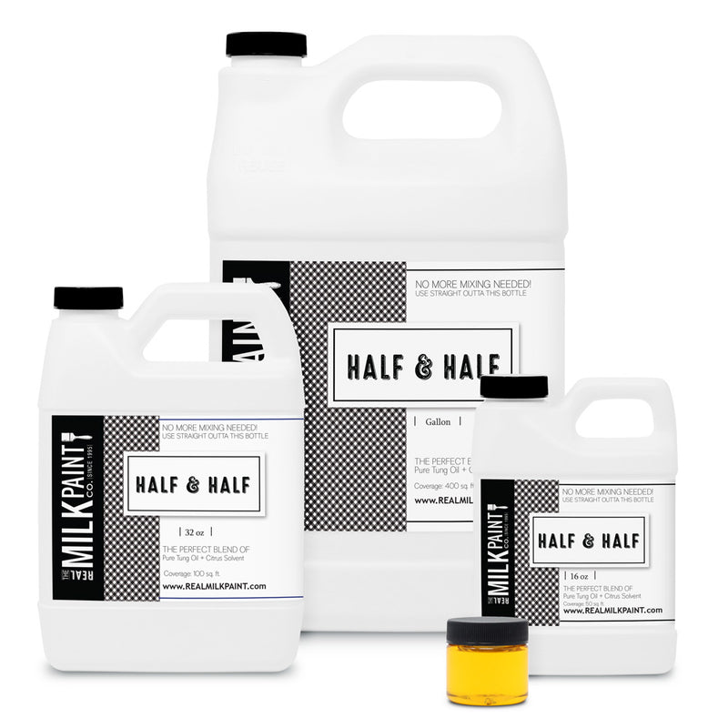 Real Milk Paint Half & Half - 16 ounces