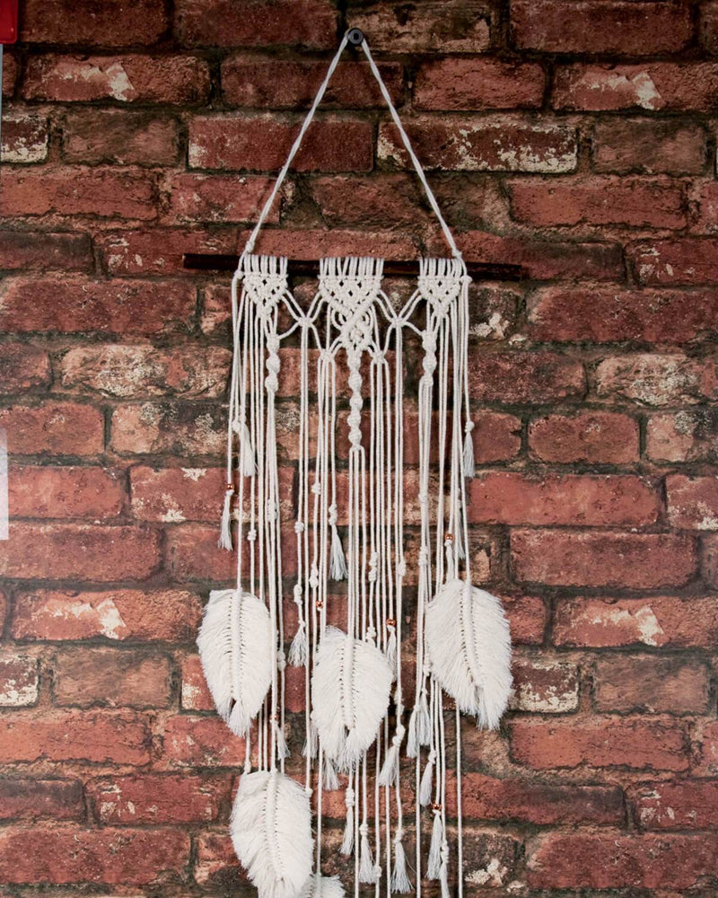 Make-ramé™ Kit - Feather Macrame Kit