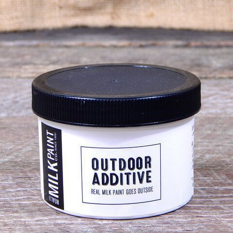Real Milk Paint Outdoor Additive- 8 ounces