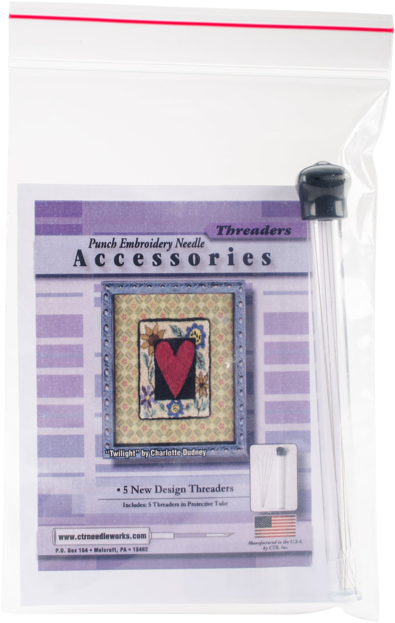 Punch Embroidery Needle Threaders