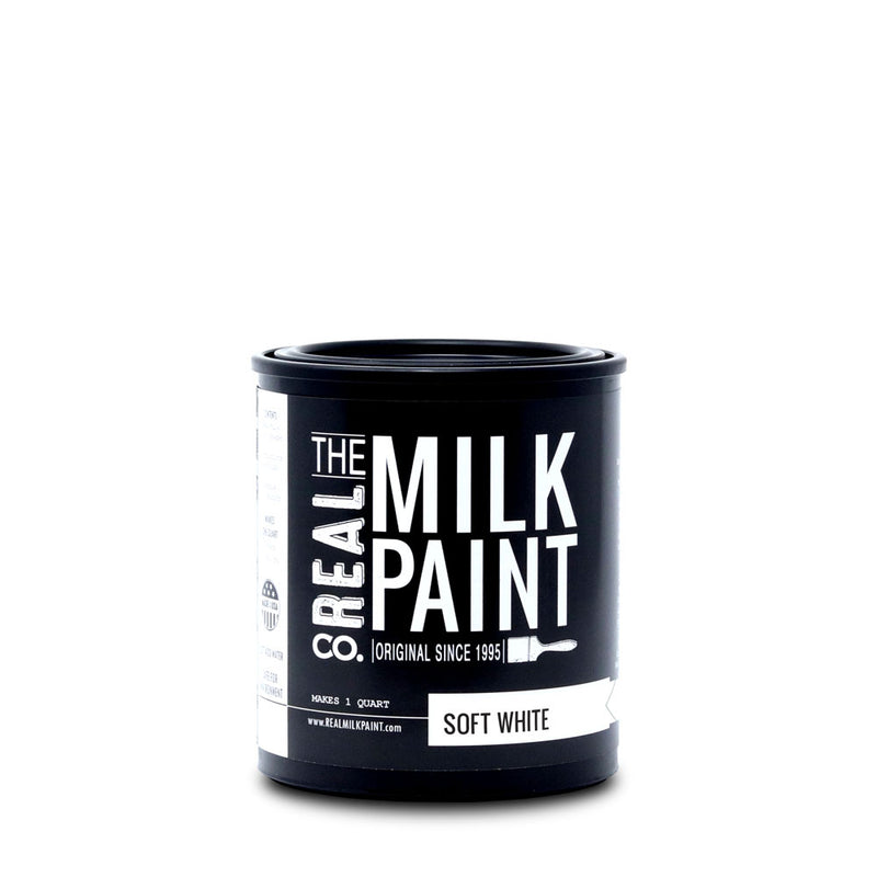 Real Milk Paint Soft White- Quart