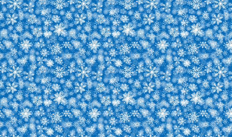 Realistic Snowflake Pattern Heat Transfer Vinyl and Carrier Sheet