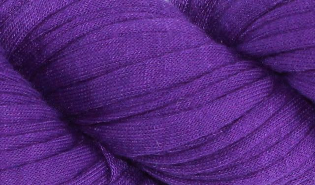 Recycled T-Shirt Yarn- Purple