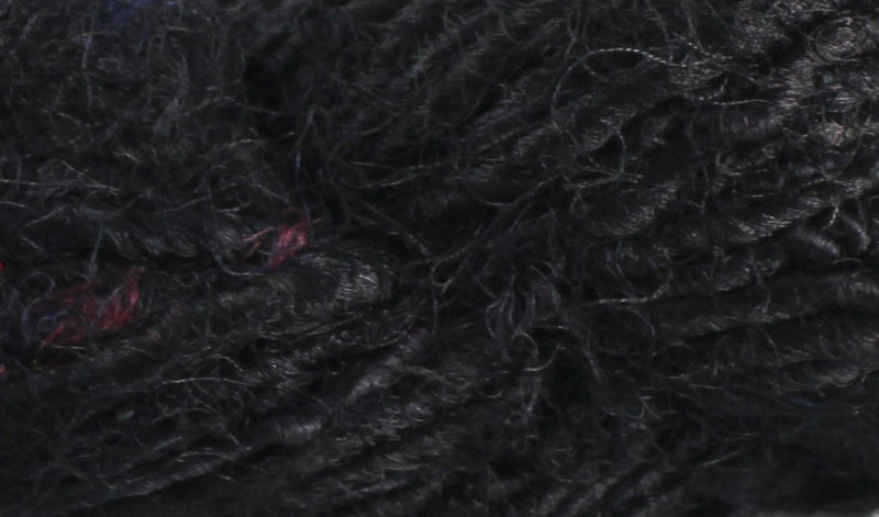 Recycled Sari Yarn- Black