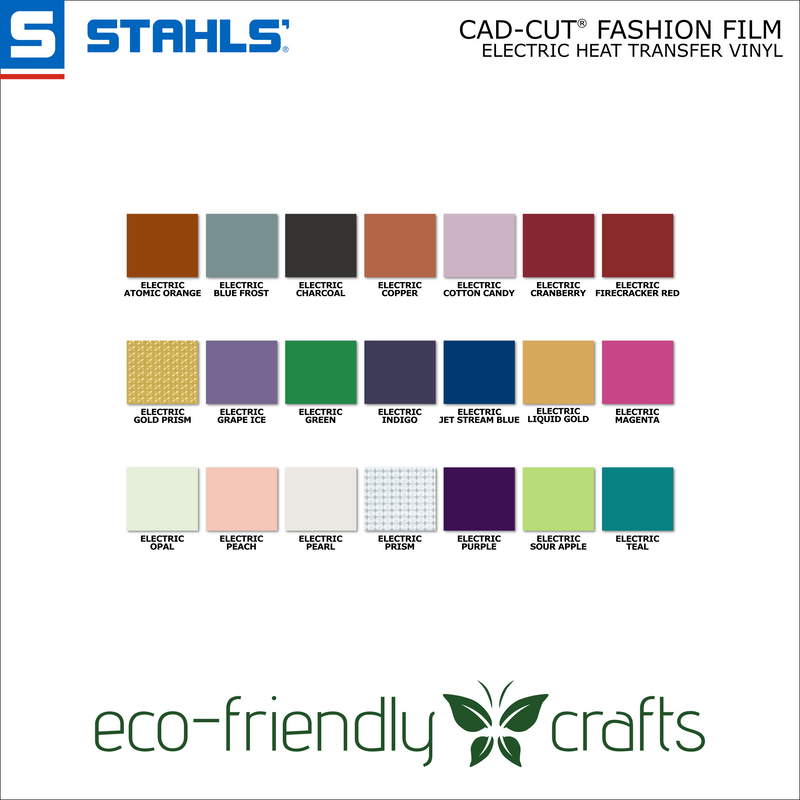 Stahls CAD-CUT® Fashion-FILM Electric Heat Transfer Vinyl