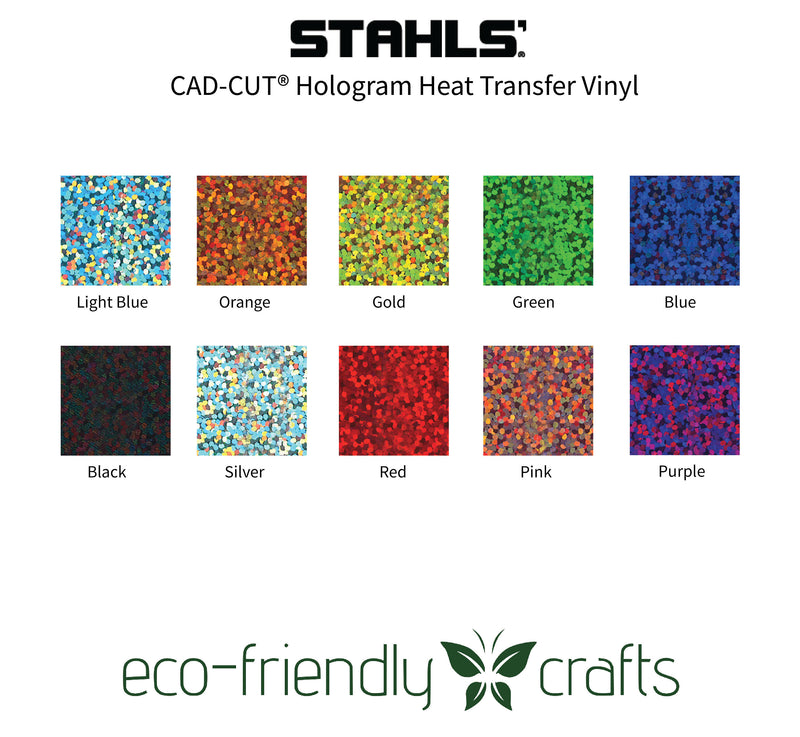 Stahls CAD-CUT® Fashion-FILM Hologram Heat Transfer Vinyl